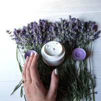 candle magick lavender
