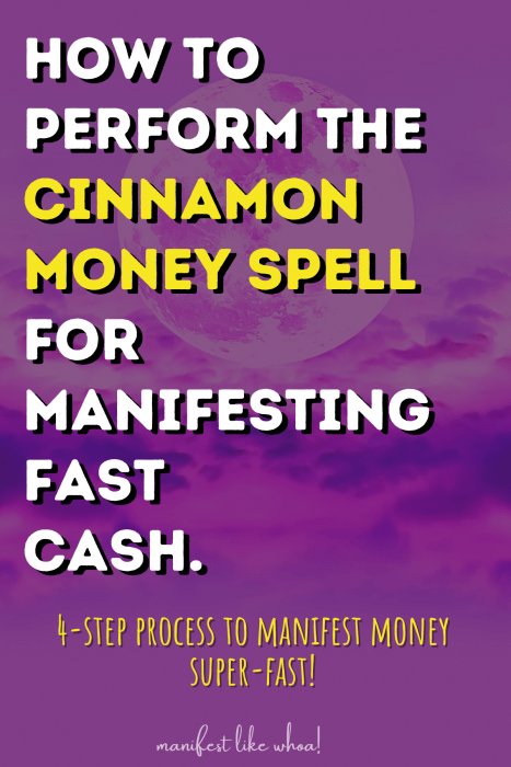 How To Perform The Cinnamon Money Spell For Manifeting Fast Cash