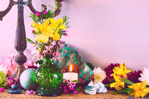 crystal altar messages to the universe