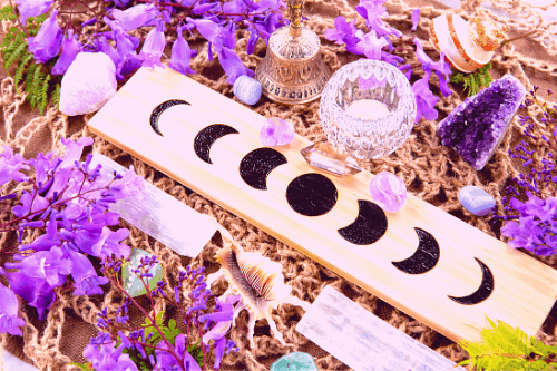 full moon ritual for money