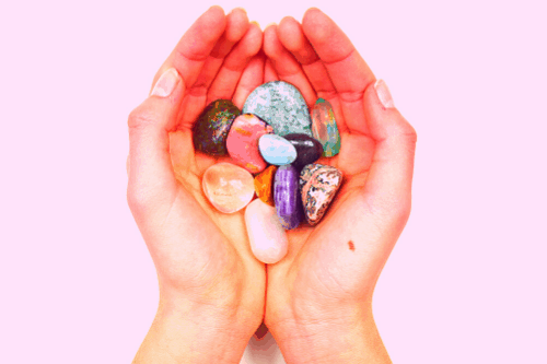 healing and manifesting crystals