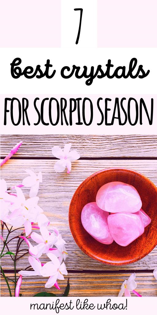 7 Magic Crystals & Gemstones for Scorpio Season (Astrology & Zodiac Crystal Healing)