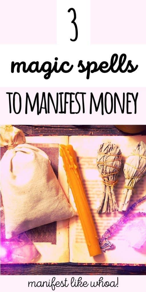 3 Money Manifestation Spells & Rituals That Work Like MAGICK!