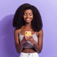 positive affirmatins to get someone to text you
